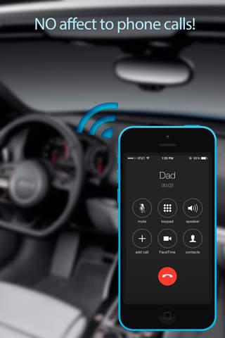 окно приложения Blue2Car