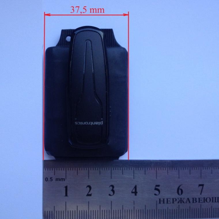 Размеры гарнитуры Powerbox для беспроводного микро наушника: ширина