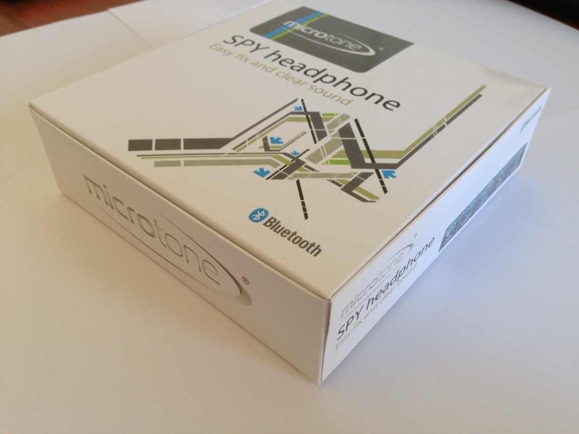 Коробка: комплекта мининаушника Premium Plantronics (9 мм)