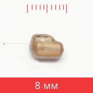микронаушник Premium размером 8 мм